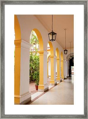 Cuba, Trinidad Trinidad, A Cuban City Framed Print