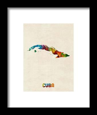 Cuba Framed Prints