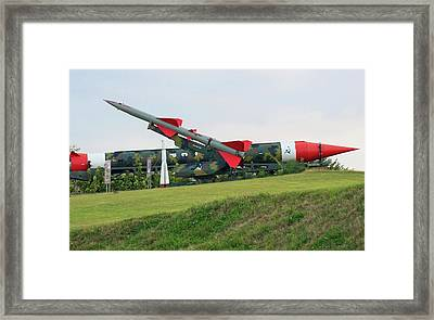 Cuban Missile Crisis Display. Framed Print by Mark Williamson