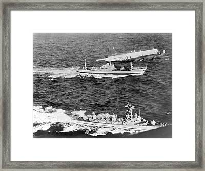Cuban Missile Crisis Framed Print by Underwood Archives