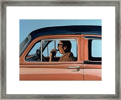 Cuban Portrait #1, 1996 Framed Print by Marjorie Weiss