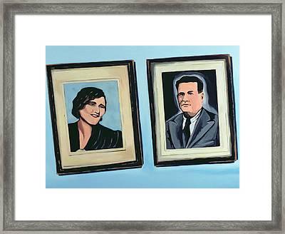 Cuban Portrait #2, 1996 Framed Print by Marjorie Weiss