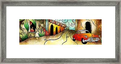Cuban Street Framed Print