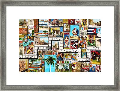 Framed Print featuring the painting Cubana by Joseph Sonday