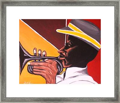 Cubanhorn Framed Print by Donald Lyons