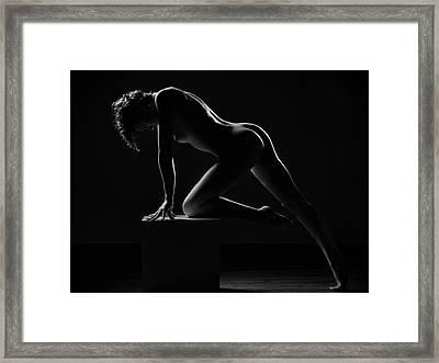 Cube IIi Framed Print