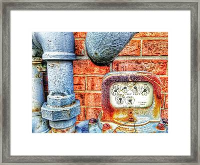 Cubic Feet Only Framed Print by Olivier Calas