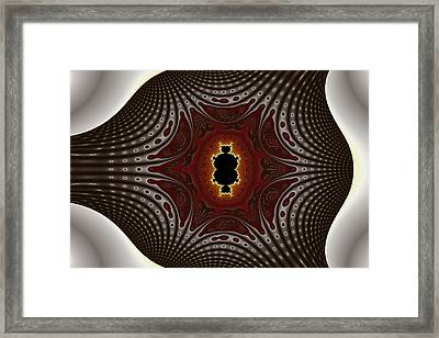 Cubic Holiday Framed Print by Mark Eggleston
