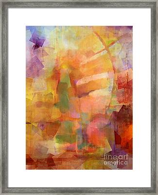 Cubic Impression Framed Print by Lutz Baar