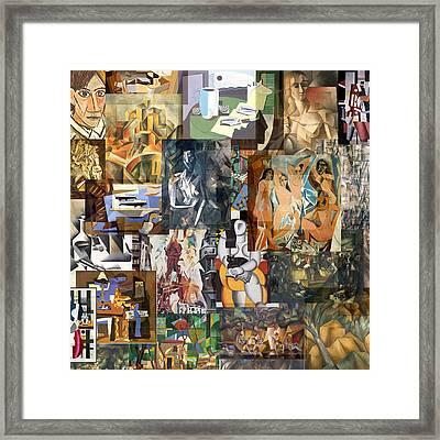 Cubism 1907 To 1914 Framed Print
