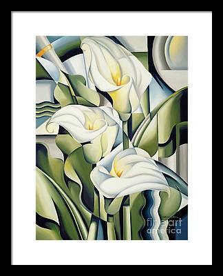 Lily Framed Prints