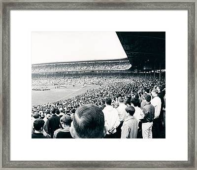 Cubs Opening Day 1968  Framed Print by Retro Images Archive