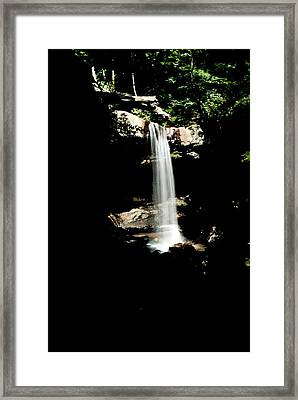 Framed Print featuring the photograph Cucumber Falls Wat 208 by G L Sarti