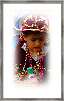 Cuenca Kids 244 Framed Print by Al Bourassa