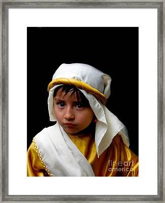 Cuenca Kids 300 Framed Print by Al Bourassa