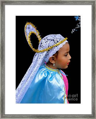 Cuenca Kids 363 Framed Print by Al Bourassa
