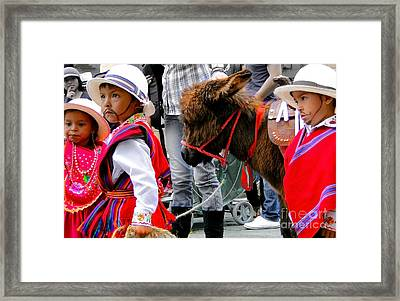 Cuenca Kids 374 Framed Print