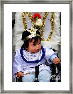 Cuenca Kids 380 Framed Print by Al Bourassa