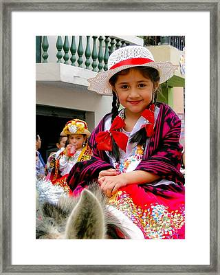 Cuenca Kids 385 Framed Print