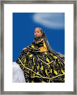 Cuenca Kids 394 Framed Print by Al Bourassa