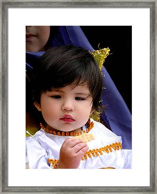 Cuenca Kids 600 Framed Print by Al Bourassa