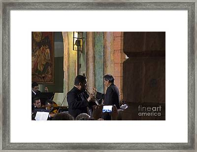 Cuenca Symphony Orchestra Painting Framed Print