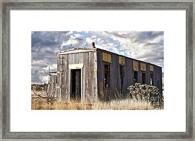 Cuervo Wide Framed Print by Lee Craig