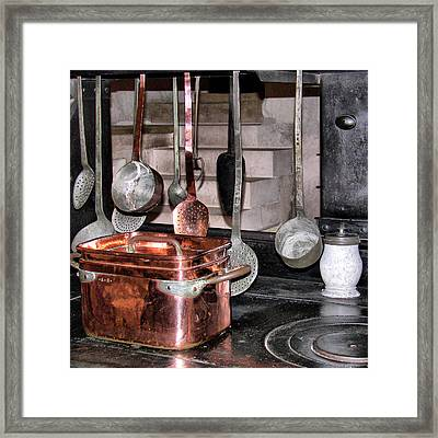 Cuisine At Chenonceau #2 Framed Print by Nikolyn McDonald