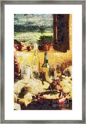 Cuisine Framed Print by Mo T