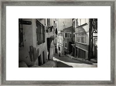 Cul-de-sac Framed Print