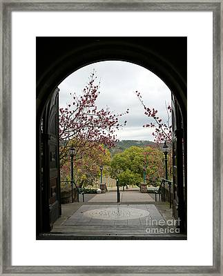 Culinary Institute Of America At Greystone Framed Print