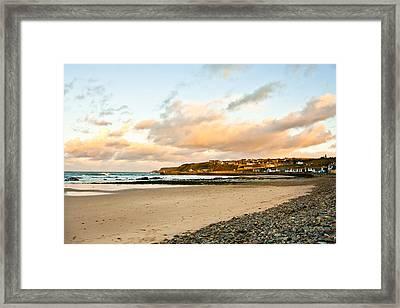 Cullen Beach Framed Print by Tom Gowanlock