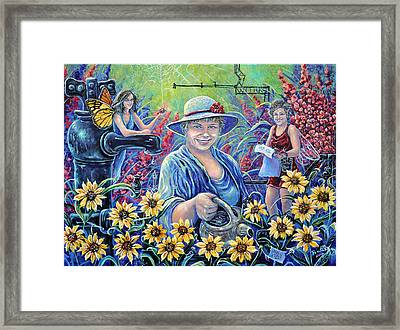 Cultivating The Arts Framed Print