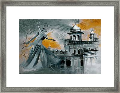 Cultural Dancer 2 Framed Print by Catf