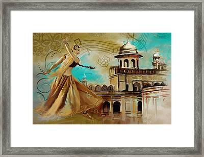 Cultural Dancer Framed Print by Catf