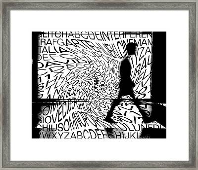 Cultural Dynamism Framed Print by Giovanni Paolini
