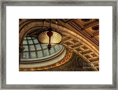 Culture Details Framed Print
