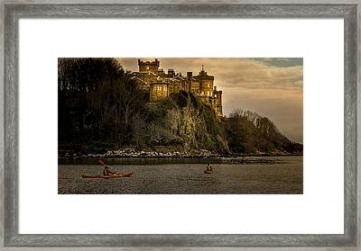 Culzean Castle Scotland Framed Print