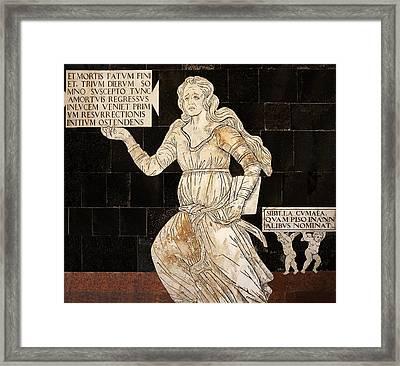 Cumaen Sibyl Framed Print