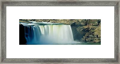 Cumberland Falls, Cumberland River Framed Print by Panoramic Images