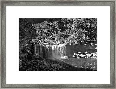 Cumberland Falls Six Bw Framed Print