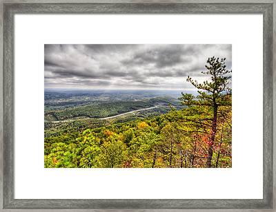 Cumberland Gap Framed Print by Alexey Stiop