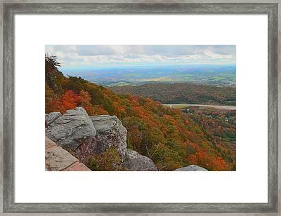 Cumberland Gap Framed Print by Dennis Baswell