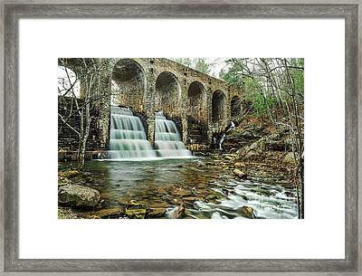 Cumberland Waterfall Framed Print by Debbie Green