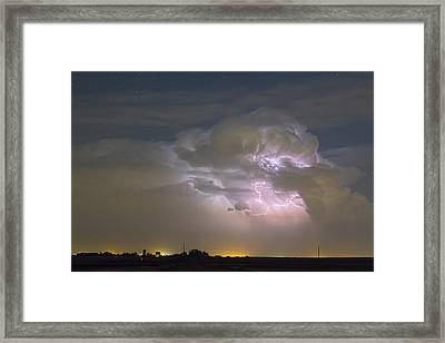 Cumulonimbus Cloud Explosion Framed Print by James BO  Insogna