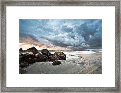 Framed Print featuring the photograph Cumuloterra by Ryan Weddle