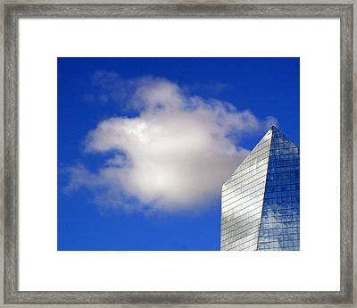 Cumulus And Cira Framed Print by Lisa Phillips