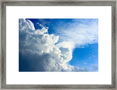 Cumulus Cloud Framed Print