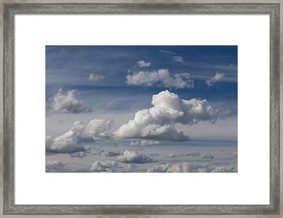 Cumulus Sky Framed Print