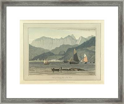 Cuniag From Loch Inver Framed Print by British Library